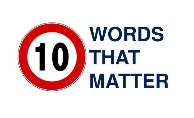 Top Ten Words