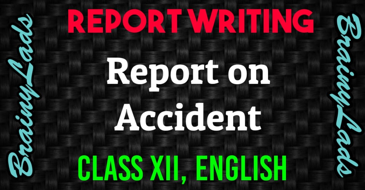 Report on Accident