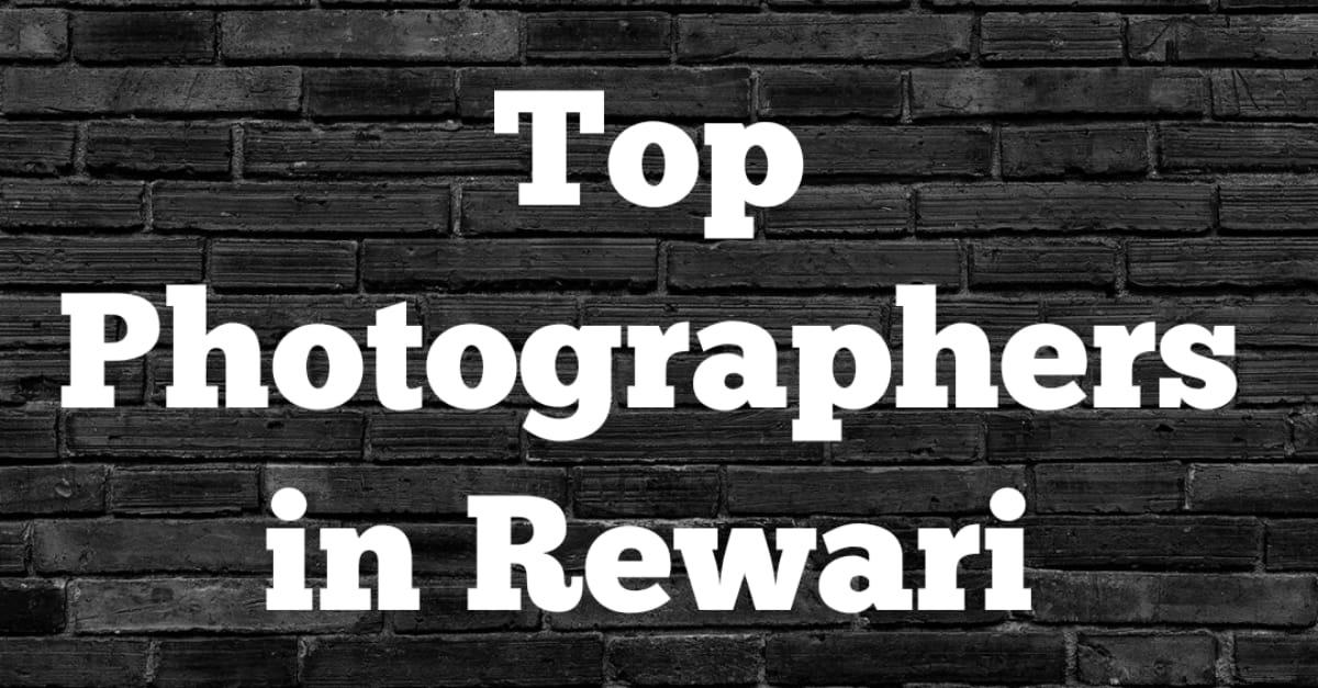 Top Photographers in Rewari