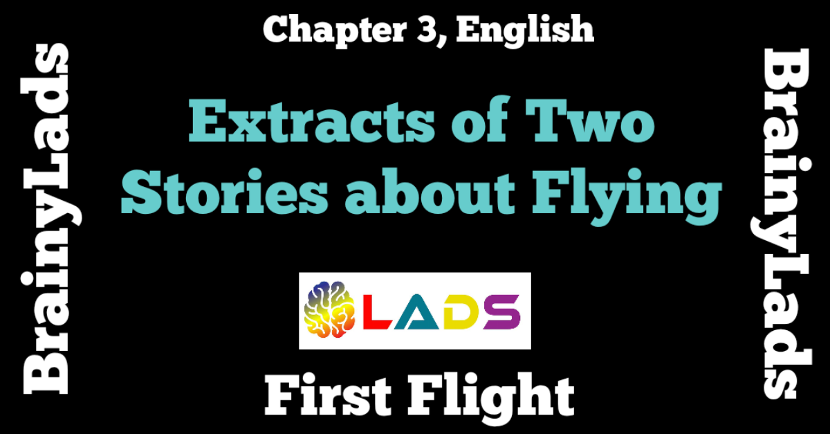 Extract Based Questions of Two Stories about Flying