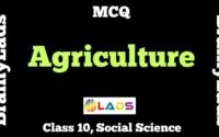 MCQ of Agriculture