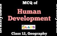 MCQ of Human Development