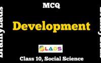 MCQ of Development