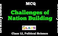 MCQ of Challenges of Nation Building