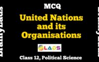 MCQ of United Nations and its Organisations