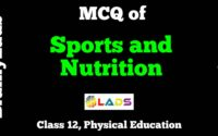 MCQ of Sports and Nutrition