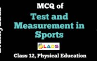 MCQ of Test and Measurement in Sports