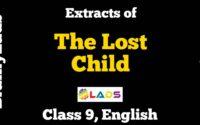 MCQ of The Lost Child